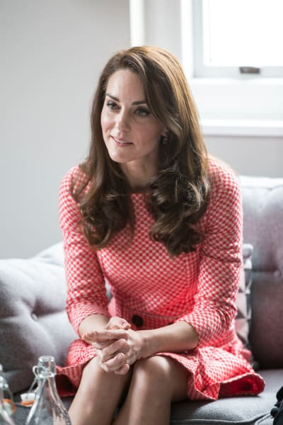 Kate Middleton Talks Motherhood