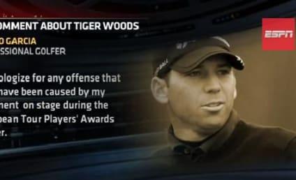 Sergio Garcia Makes Fried Chicken Joke About Tiger Woods