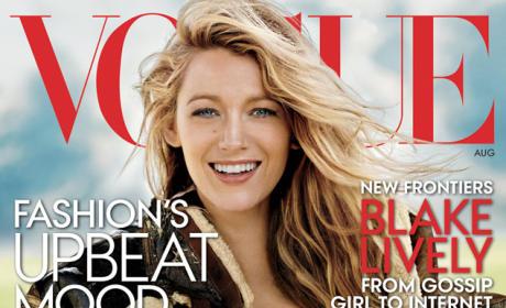 Blake Lively Vogue Magazine Cover