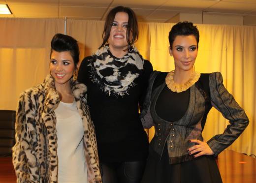Khloe, Kourtney and Kim Kardashian