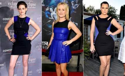 Kristen Stewart vs. Anna Paquin vs. Khloe Kardashian: Black and Blue Battle!