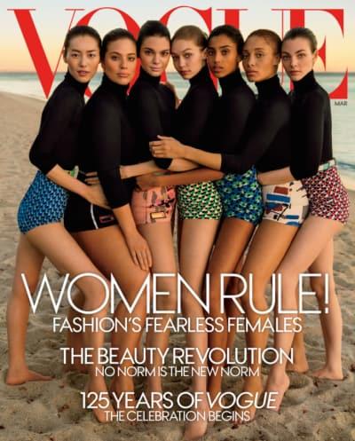 Women Rule Vogue Cover