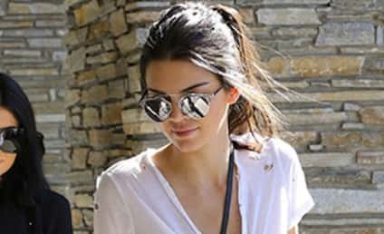 "Kendall Jenner Shows Off Nipple Piercings with Insane ""Shirt"""