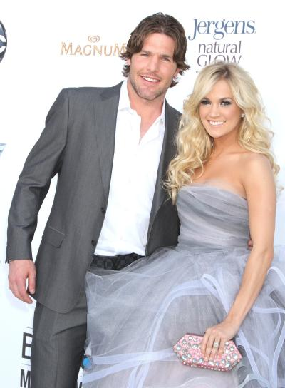 Mike Fisher and Carrie Underwood Photo