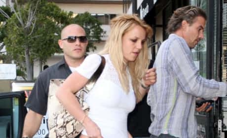 Britney and Jason Photo