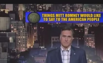 Mitt Romney Addresses America, Reads Top 10 List on Late Show With David Letterman