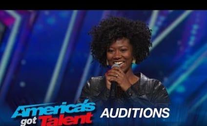 Watch Sharon Irving Earn Golden Buzzer on America's Got Talent