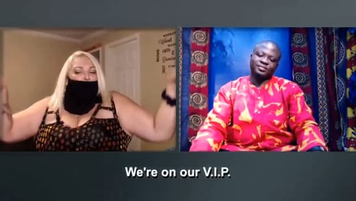 Angela Deem and Michael Ilesanmi at the Tell All (preview)