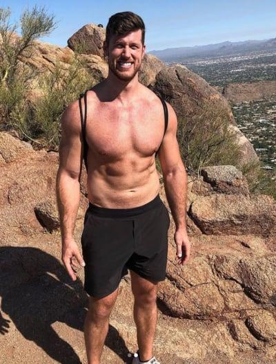 Clayton Echard on a Hike