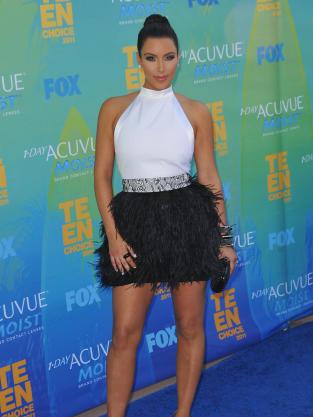 Kim Kardashian at the TCAs