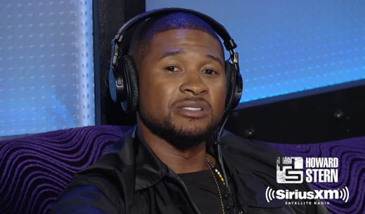 Usher Interview Pic