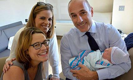 "Savannah Guthrie Posts New Baby Photos, Is a ""Big Ball of Mush"""