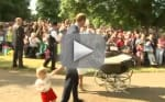 Princess Charlotte Christening Video