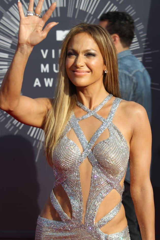 Jennifer Lopez at the 2014 VMAs