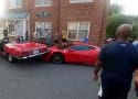 Ferrari Gets DESTROYED in Worst Parallel Parking Job Ever