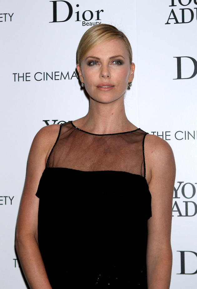 Charlize Theron in NYC