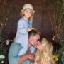 Jessica Simpson and Eric Johnson and Kids