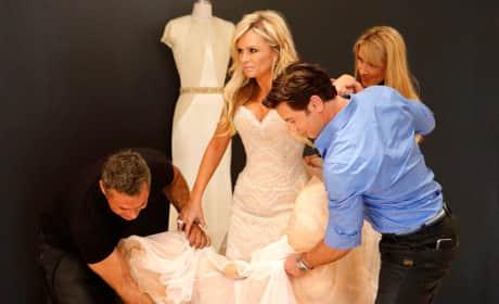 Tamra Judge Dress Shopping