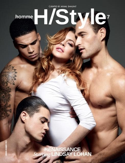 lindsay lohan naked magazine