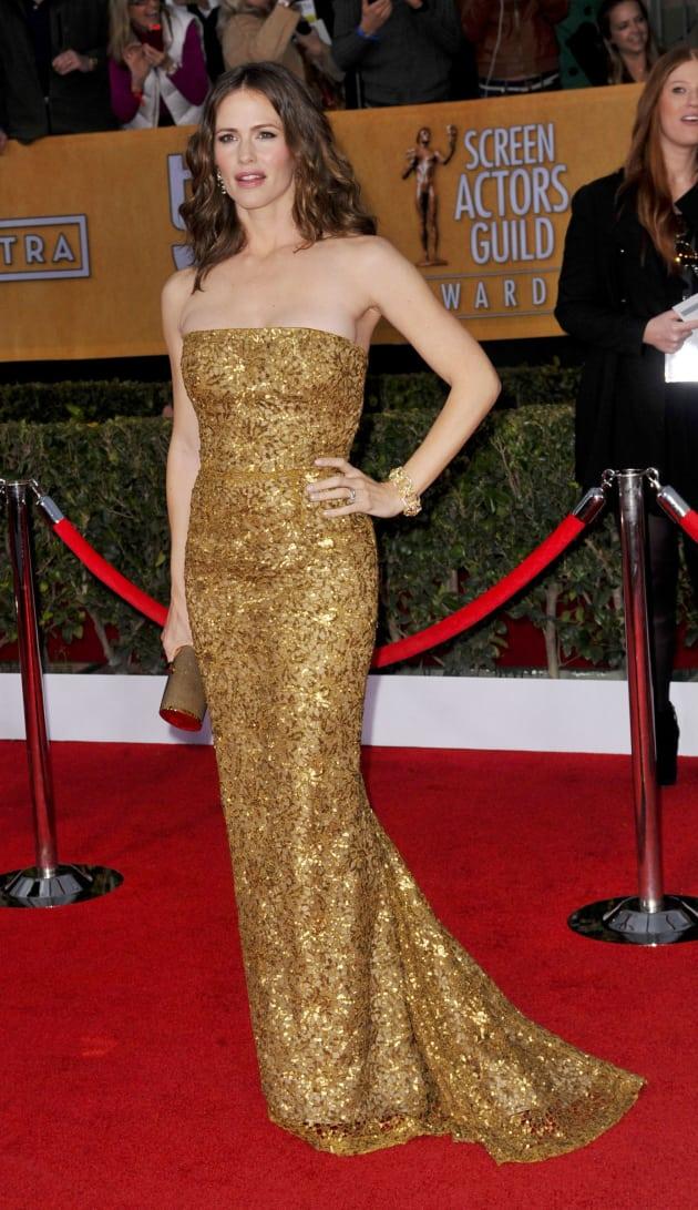 Jennifer Garner SAG Fashion