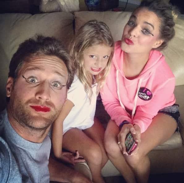 Juan Pablo Galavis, Nikki Ferrell, Daughter