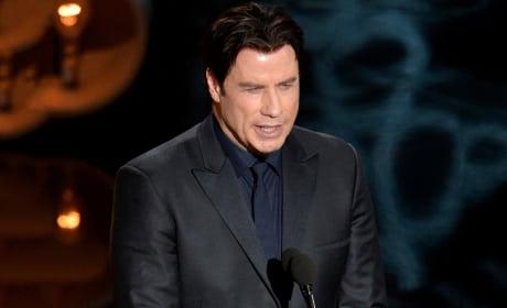 John Travolta Destroys Name of Idina Menzel