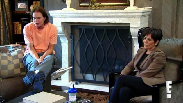 Bruce and Kris Jenner on E!