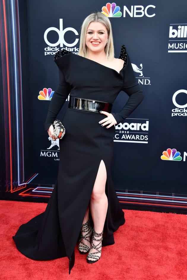 Kelly Clarkson at the BMAs