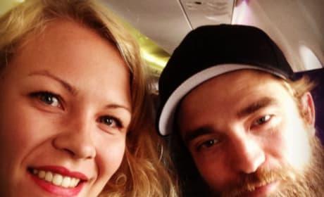 Robert Pattinson and a Fan
