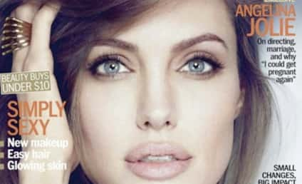 Angelina Jolie Gushes Over Brad Pitt, Family