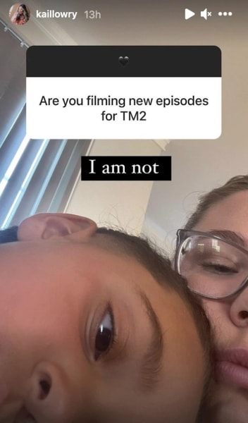 Kail on filming