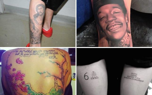 Justin bieber jesus tattoo