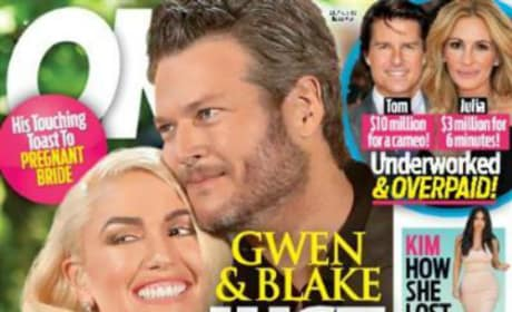 Blake Shelton And Gwen Stefani On OK!