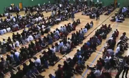 "Quebec School Gathers for Greatest ""Cups"" Performance in Internet History"