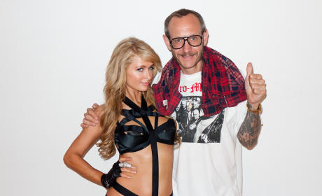 Paris Hilton and Terry Richardson