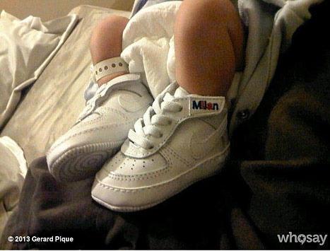 Shakira Baby Feet