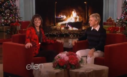 Lea Michele Guests on Ellen, Talks Cory Monteith Death
