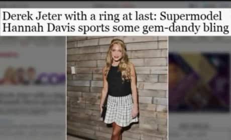 Derek Jeter and Hannah Davis: Engaged?
