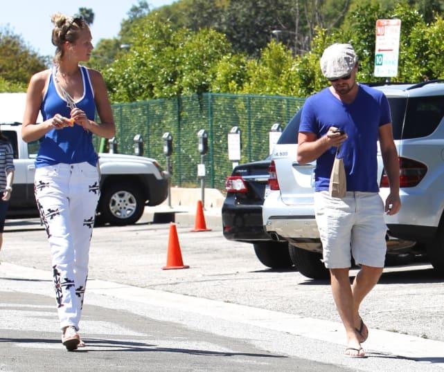 Toni Garnn and Leonardo DiCaprio Image