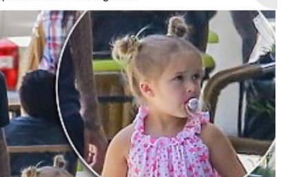 David Beckham Defends Parenting Decisions, Four-Year-Old Daughter's Pacifier Use