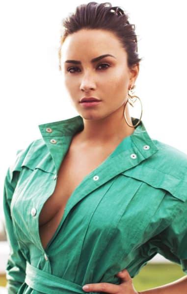 Demi Lovato on Insta