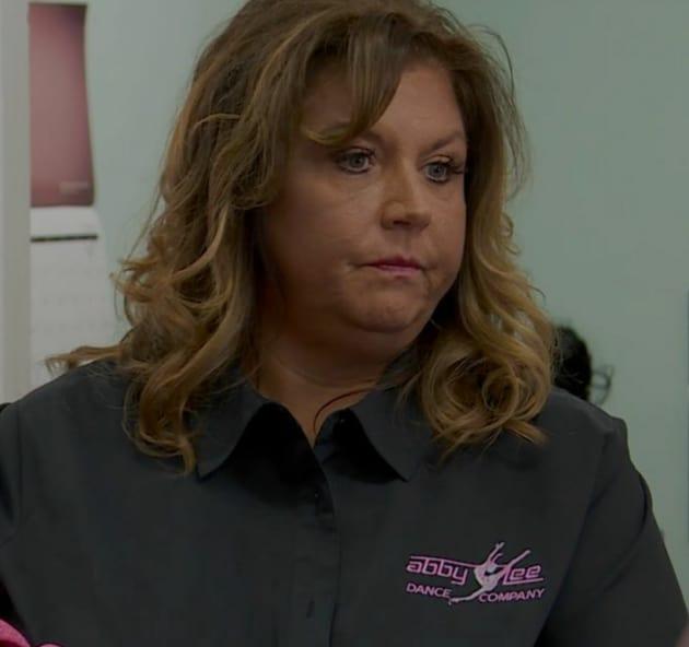 Abby Lee Miller is Peeved