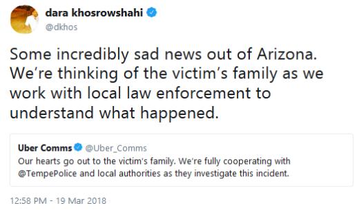 Uber Condolences