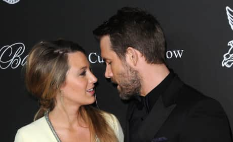 BlakeLively and Ryan Reynolds Photo