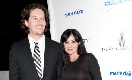 Shannen Doherty and Kurt Iswarienko