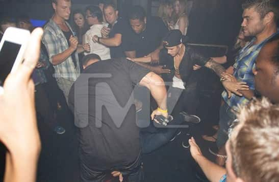 Justin Bieber Nightclub Attack
