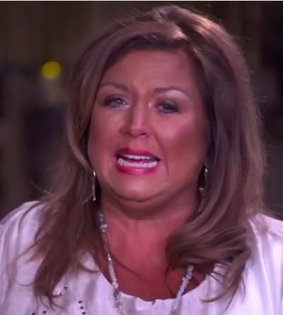 Abby Lee Miller is Sad