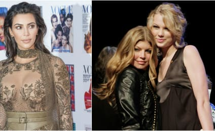 Fergie: Kimye-Taylor Swift Feud is a Total Publicity Stunt!