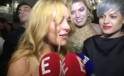 Lindsay Lohan Starts Using Bizarre Accent, Has Us Super Worried