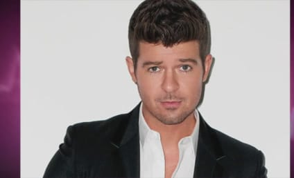"Robin Thicke Hosted ""No-Pants Party,"" Slept with Five Women in One Night, Shady Source Claims"